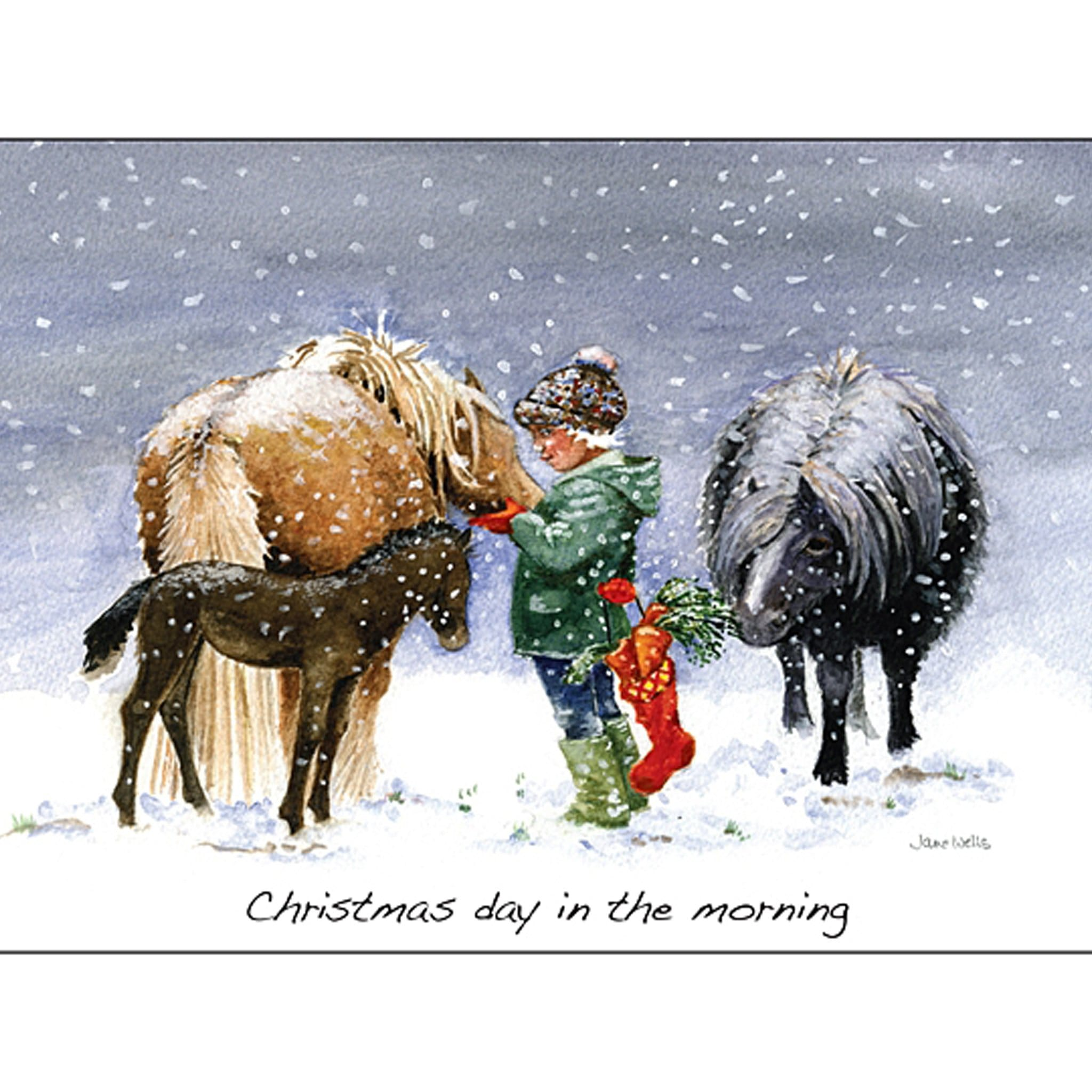 Christmas Day In The Morning Christmas Cards 5 Pack