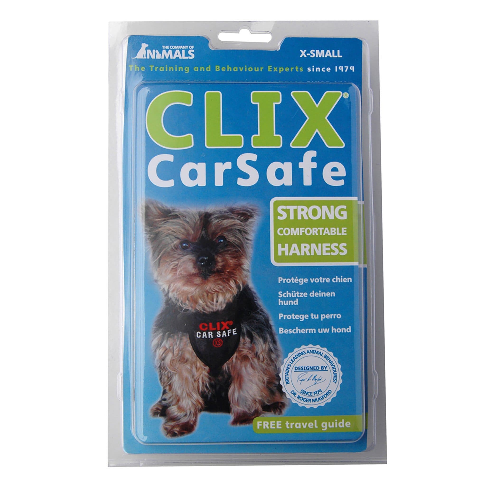 Company Of Animals Clix CarSafe Harness COA0095 XSmall