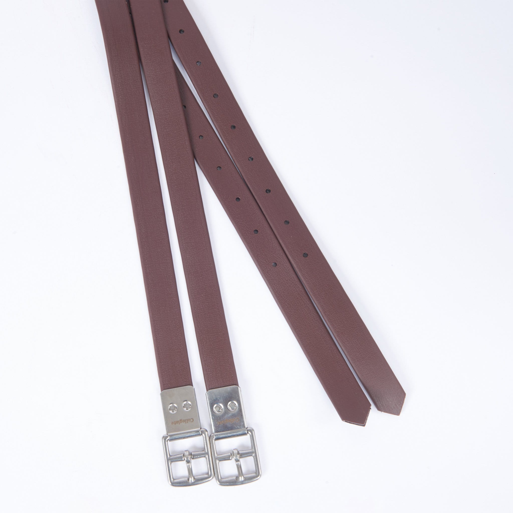 Collegiate Synthetic Stirrup Straps Brown 591165
