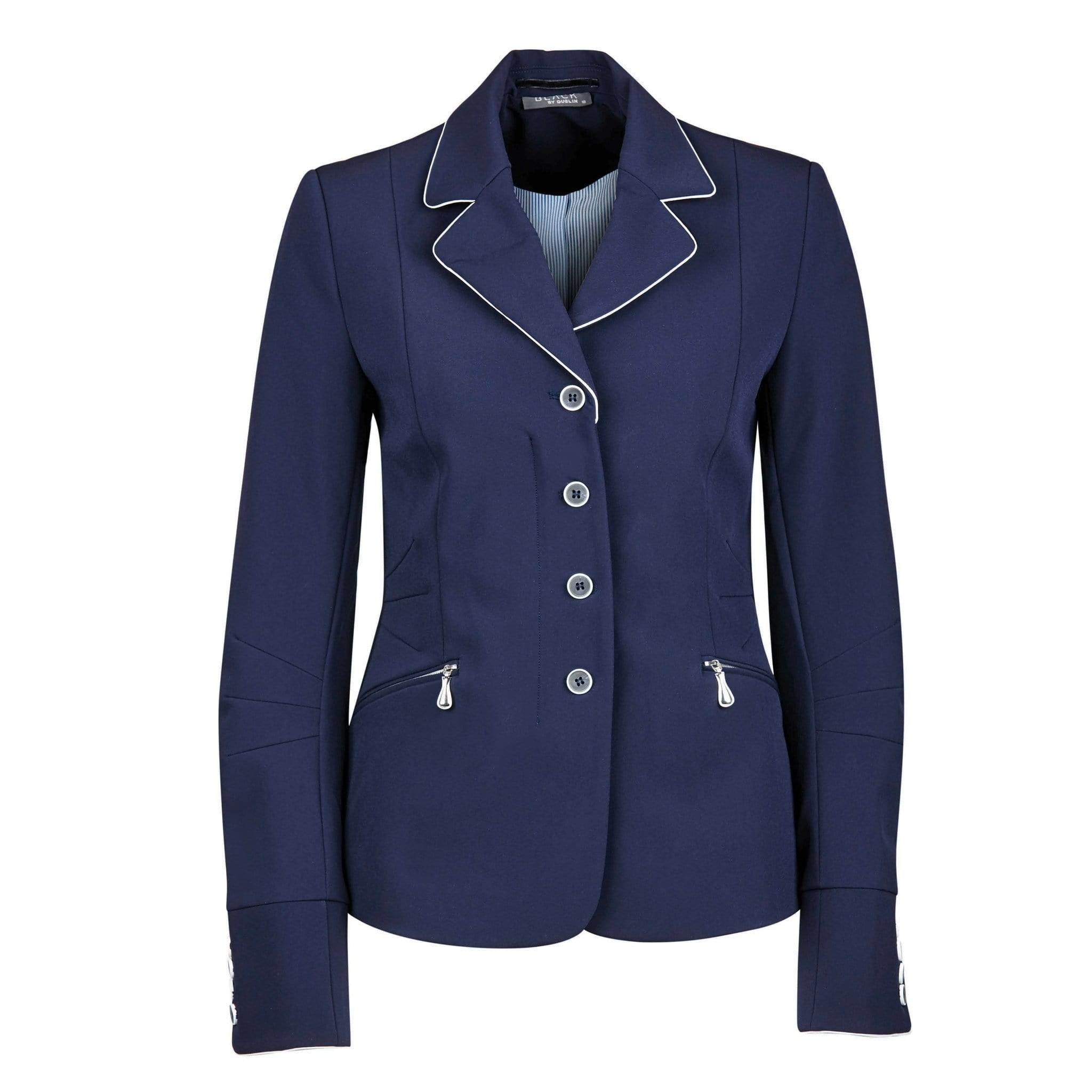 Dublin Black Diana Competition Jacket 1000557002 Navy Front