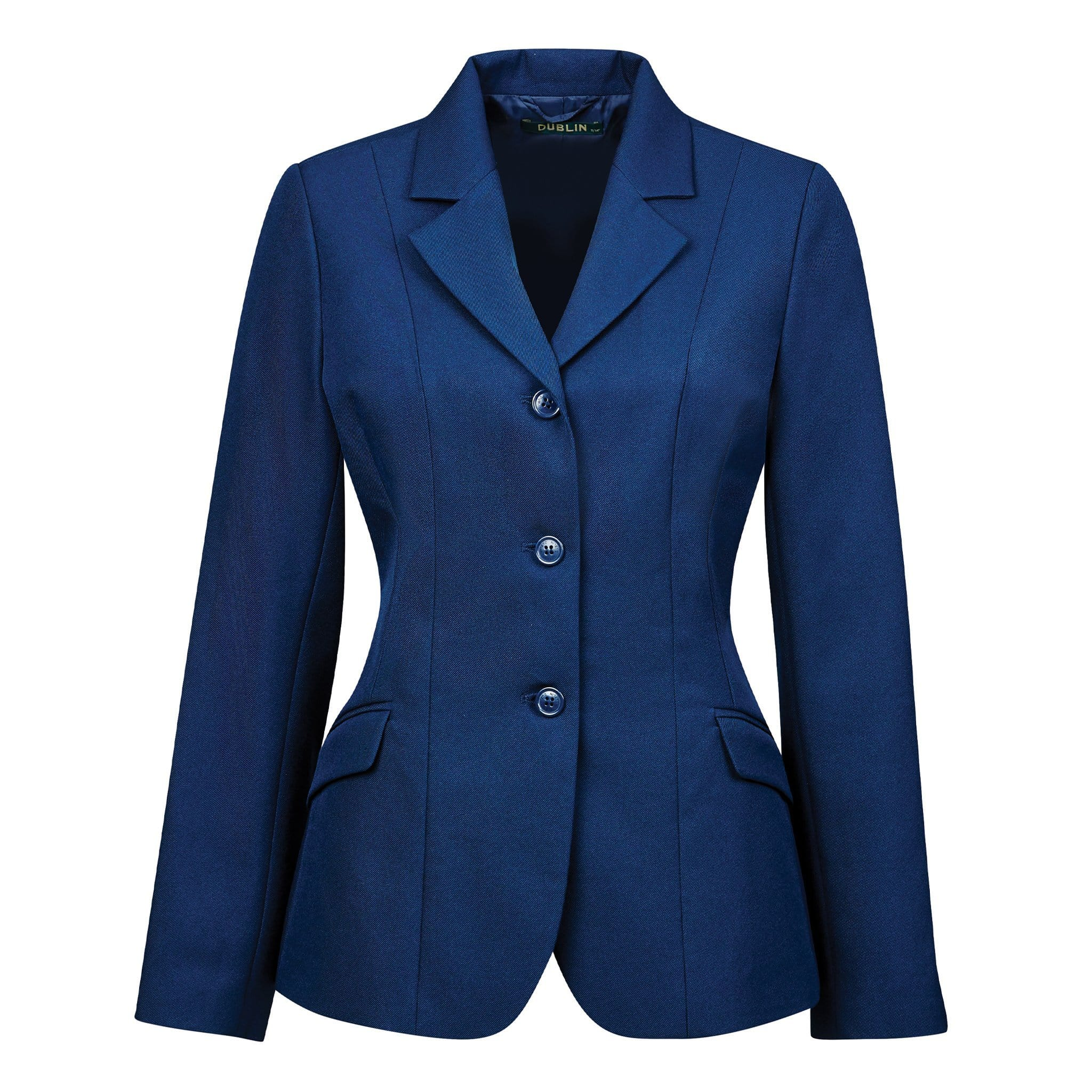 Dublin Girl's Ashby Competition Jacket 589367 Navy Blue Front