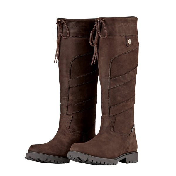 Dublin Kennet Boots in Chocolate 817642