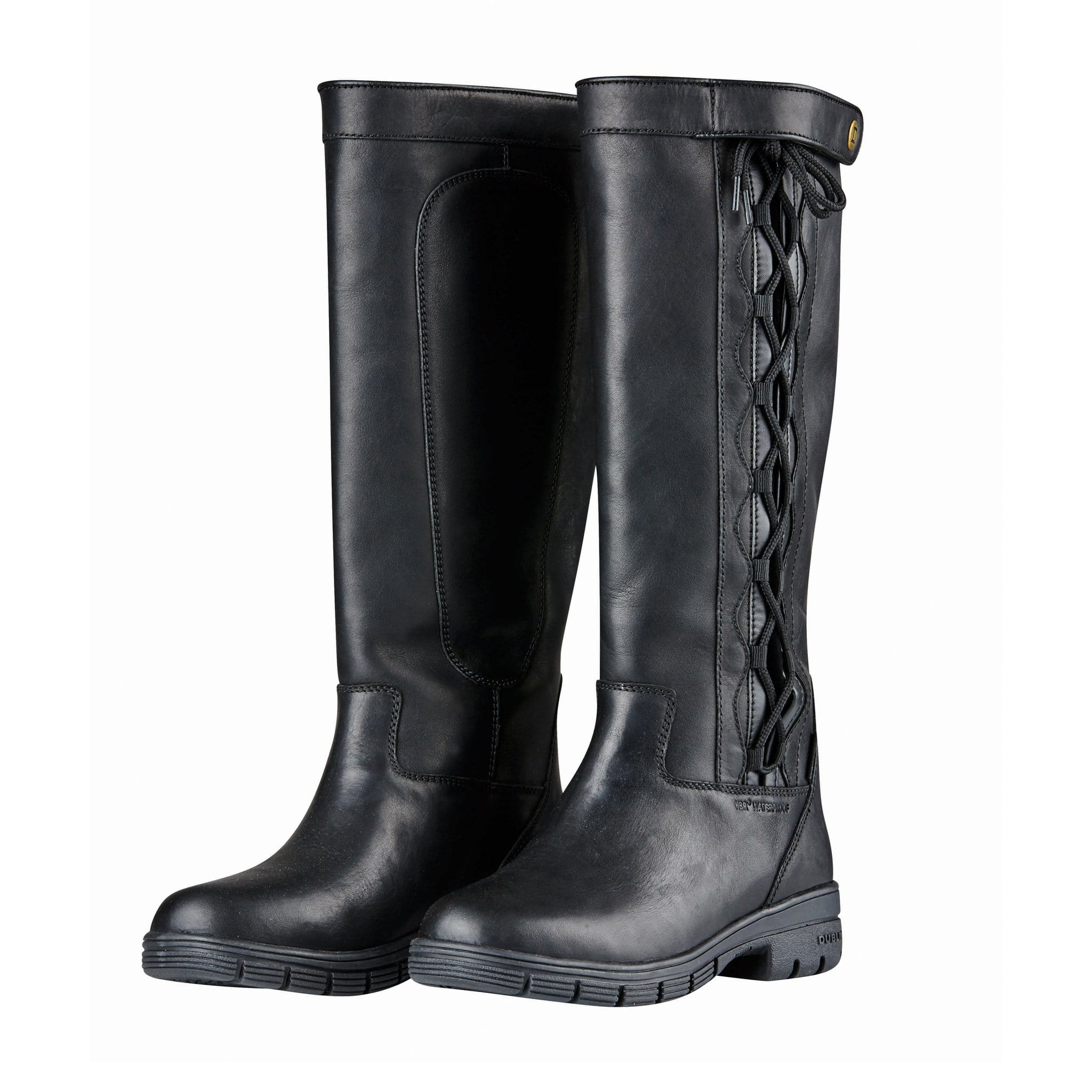 Dublin Pinnacle Grain Boots II in Black 817680