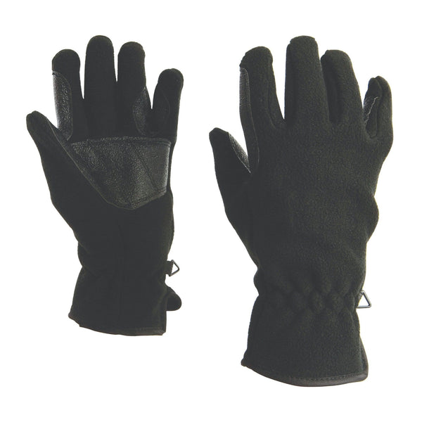Dublin Polar Fleece Glove in Black