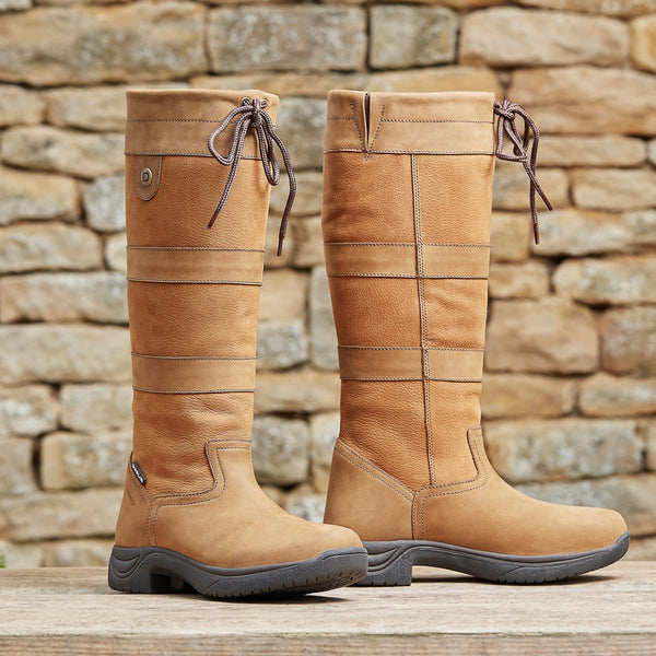 Dublin River Boots III Tan 817421 Lifestyle Outside