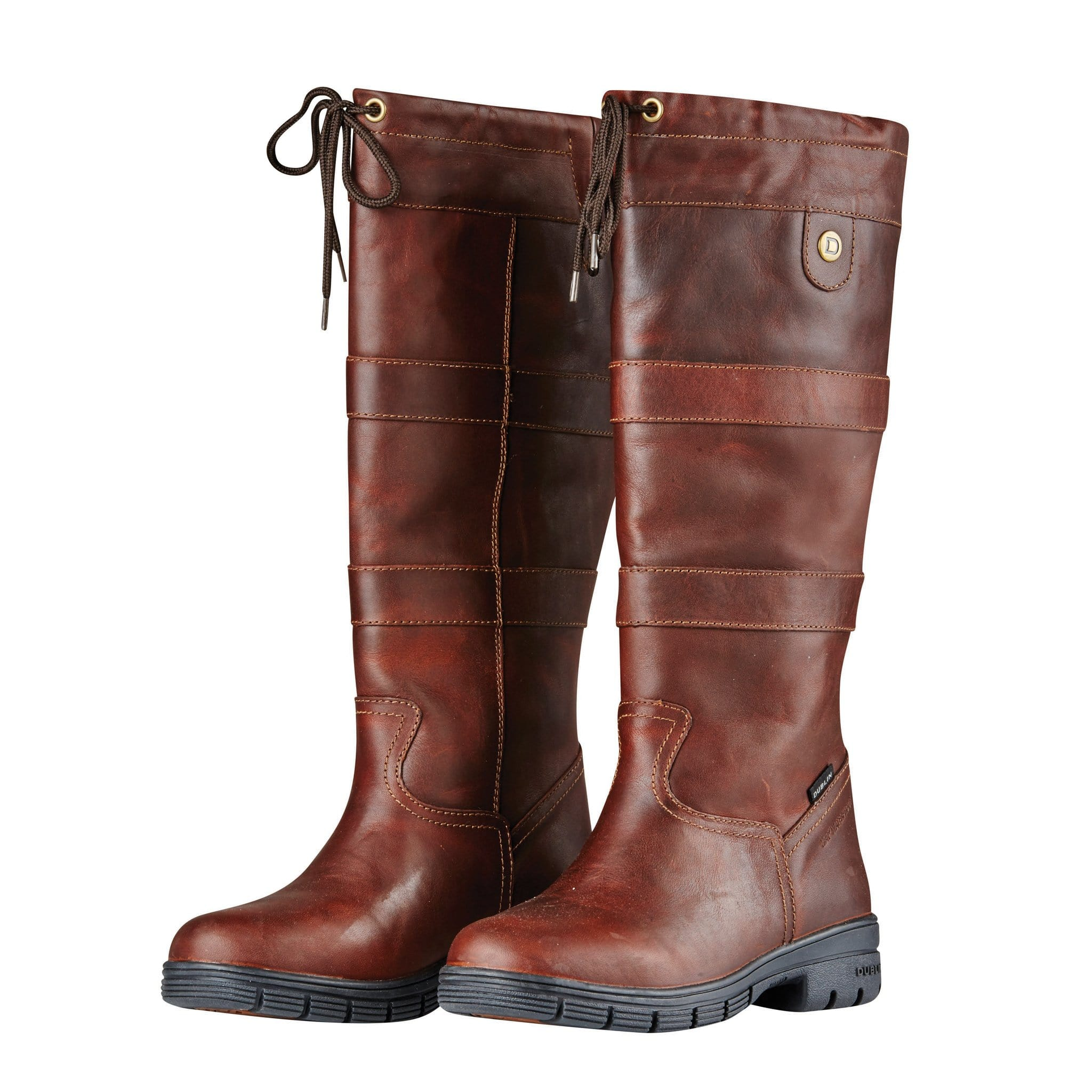 Dublin River Grain Boots in Red Brown 817714