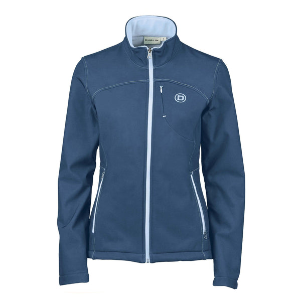 Dublin Sachi Jacket 819626 Navy and Powder Blue Front