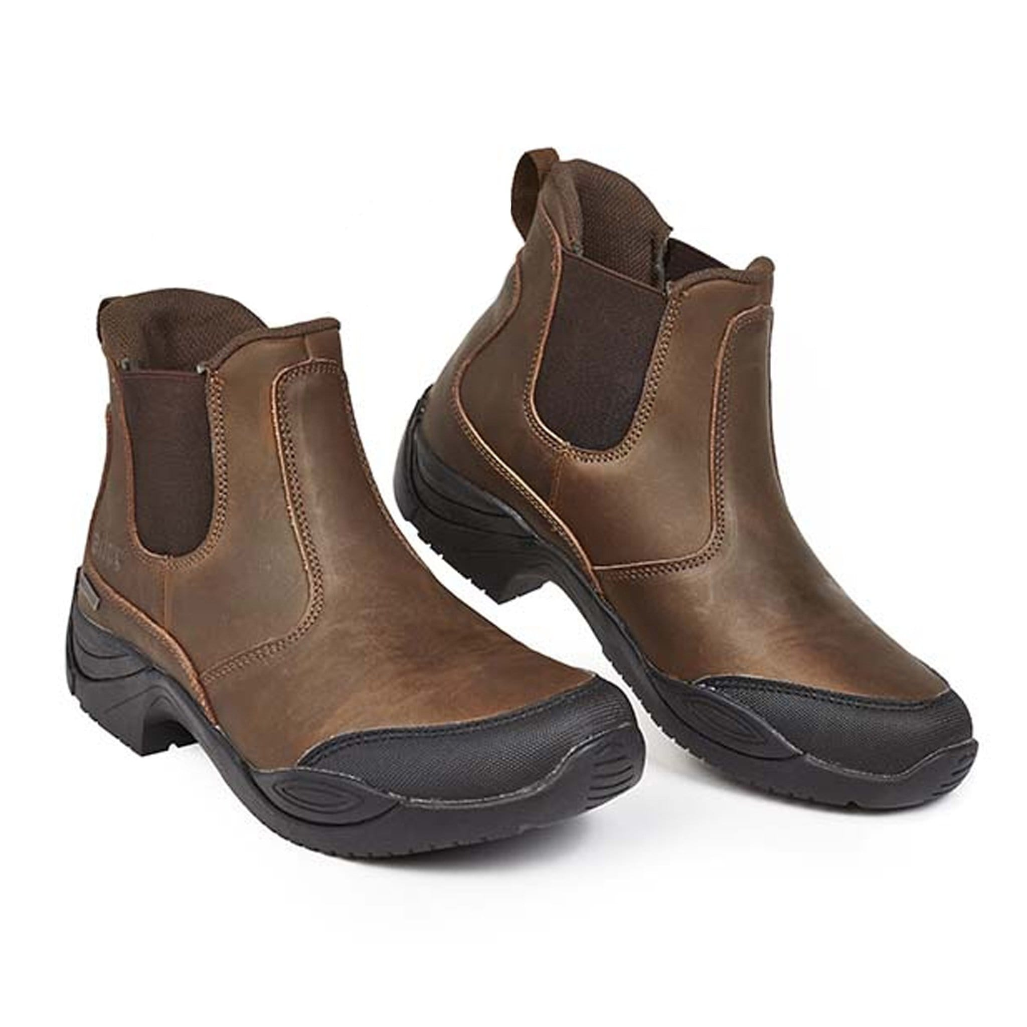 Elico Glencoe Yard Boots Brown Pair Waterproof Leather