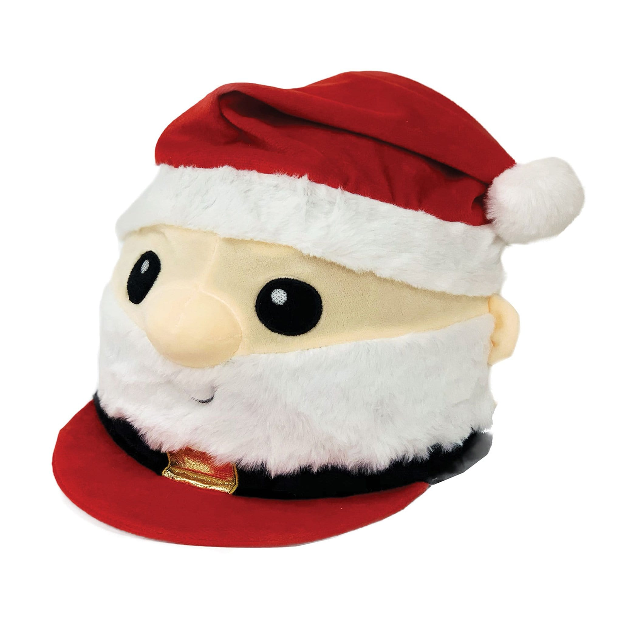Equetech Children's Father Christmas Hat Silk FXS Red Novelty Christmas Hat Cover