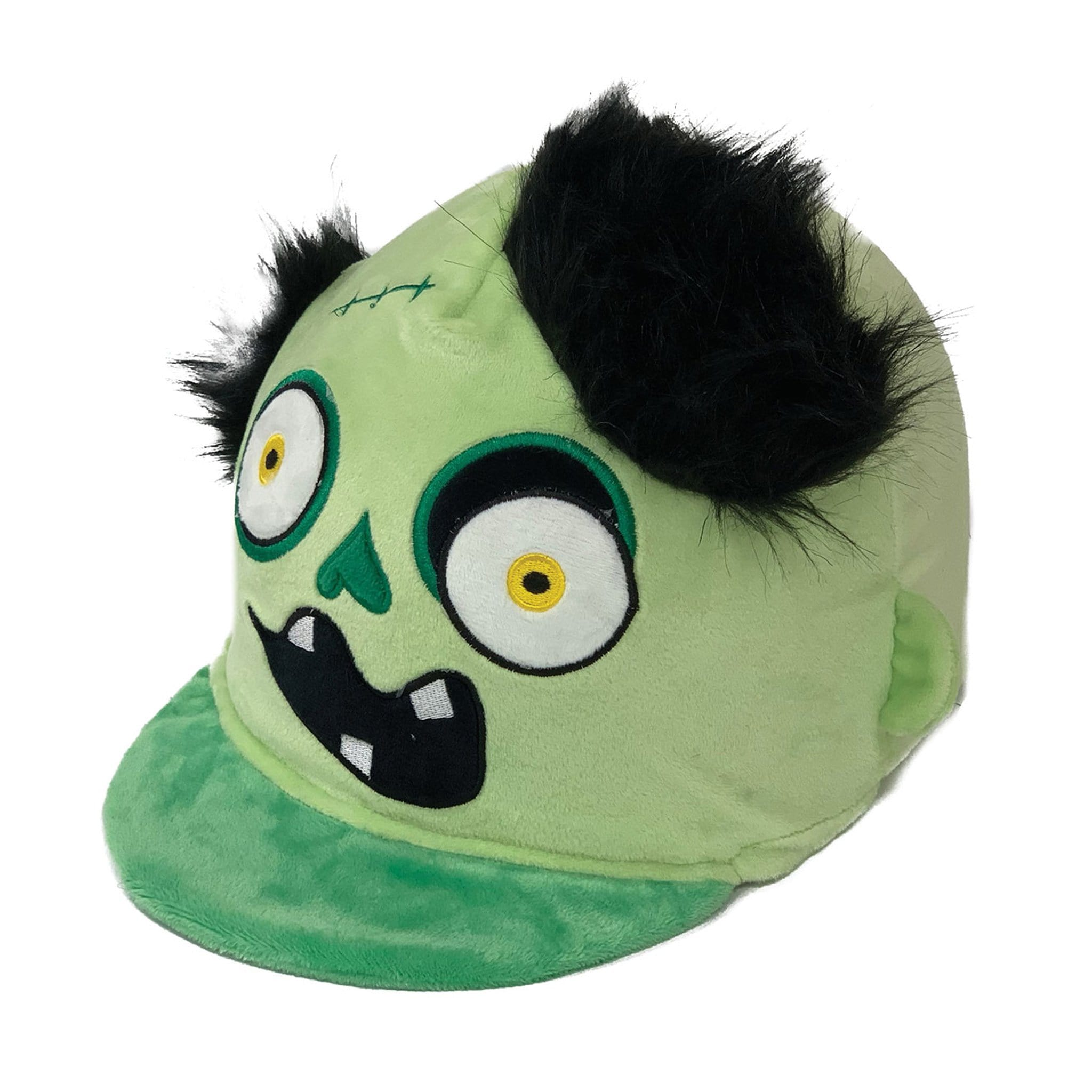 Equetech Children's Frank Monster Hat Silk FRH Green Novelty Hat Cover
