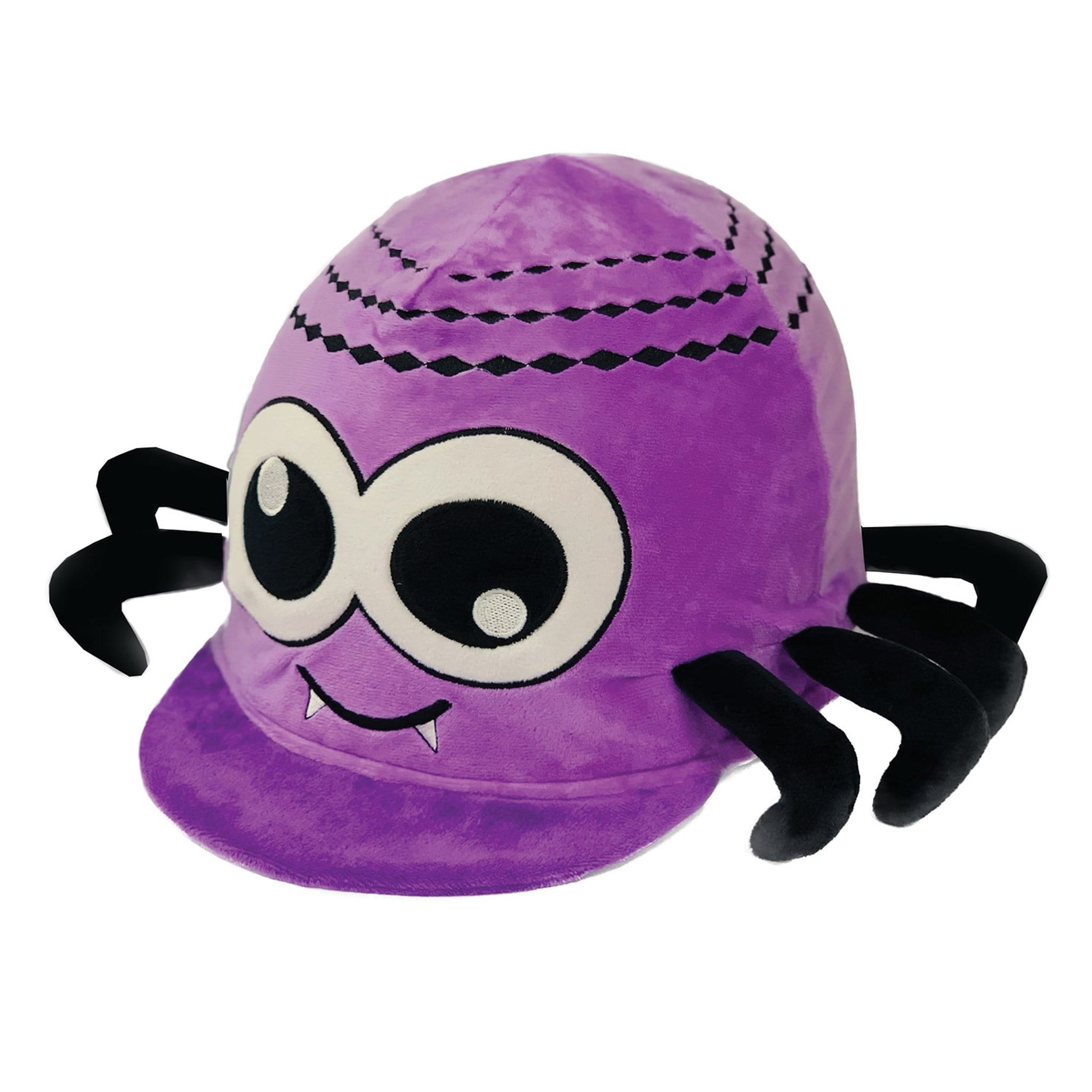Equetech Children's Sid Spider Hat Silk SID Purple Novelty Hat Cover