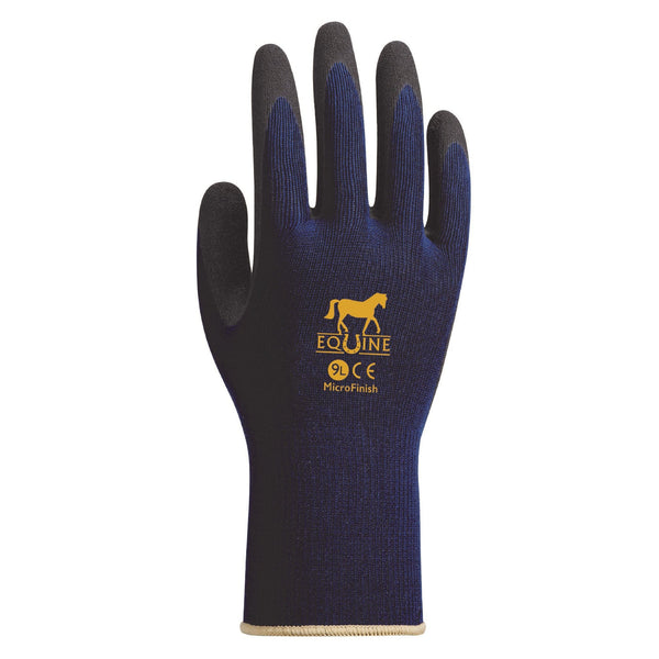LeMieux Equine Work Gloves Navy 6608