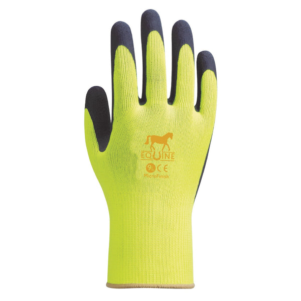 LeMieux Equine Work Gloves Yellow 6608