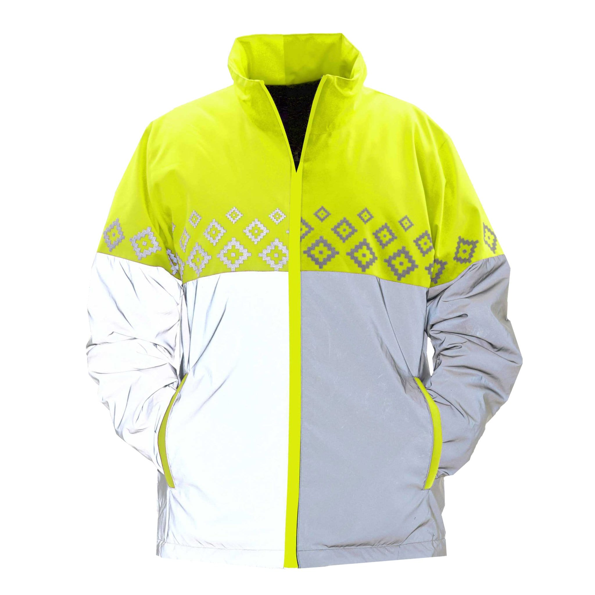 Equisafety Luminosa Jacket Yellow Front LUM