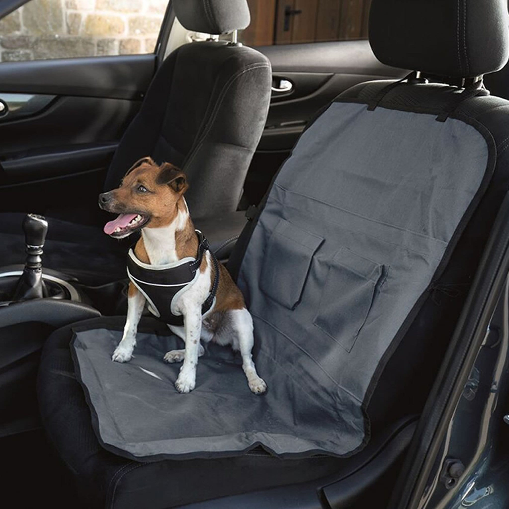 Henry Wag Single Car Seat Cover Grey HWG0005