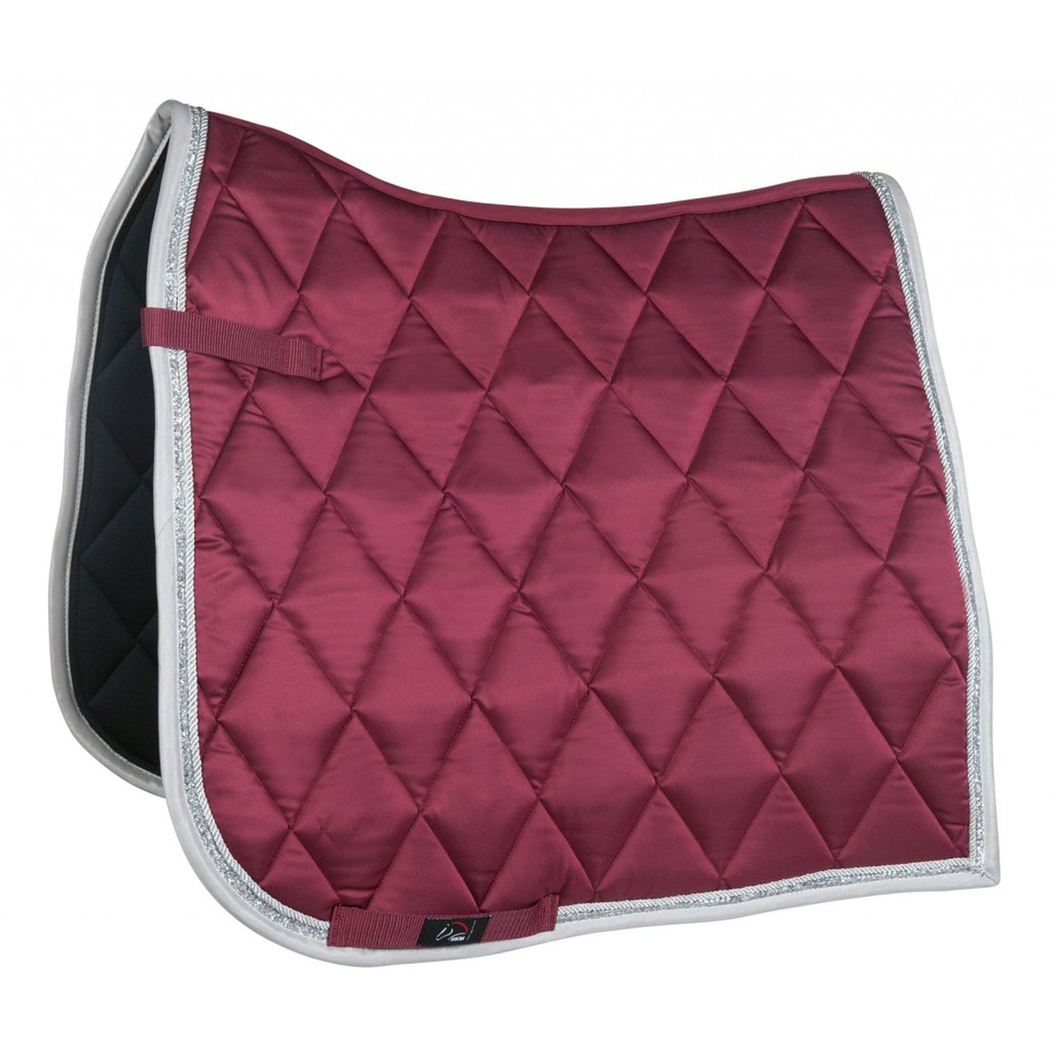 HKM Bella Saddle Pad 11272 Wine Red