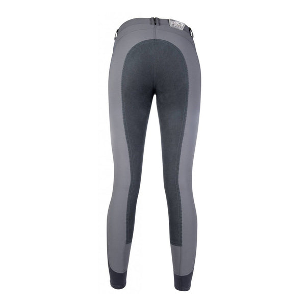 HKM Cavallino Marino Rimini PAM Alos Full Seat Sporty Breeches 9298 Dark Grey Rear