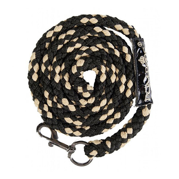 HKM Glööckler Pompöös Goldenline Lead Rope with Snap Hook