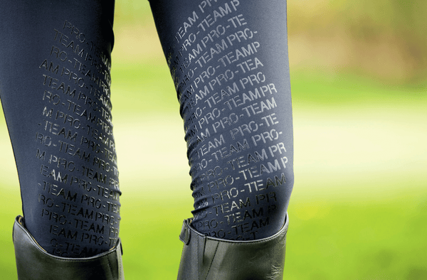HKM Pro Team Helsinki Silicone Knee Patch Breeches Inset