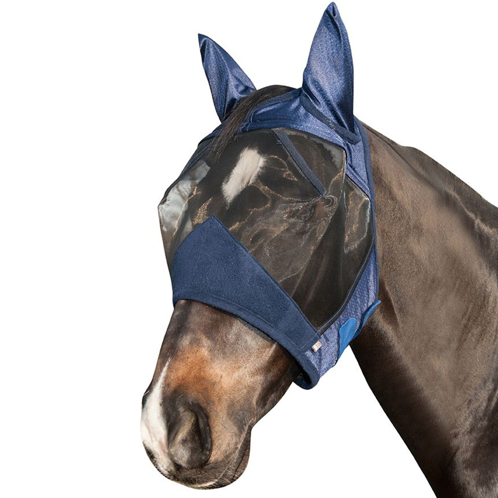 HKM High Performance Anti Fly Mask Deep Blue 11353