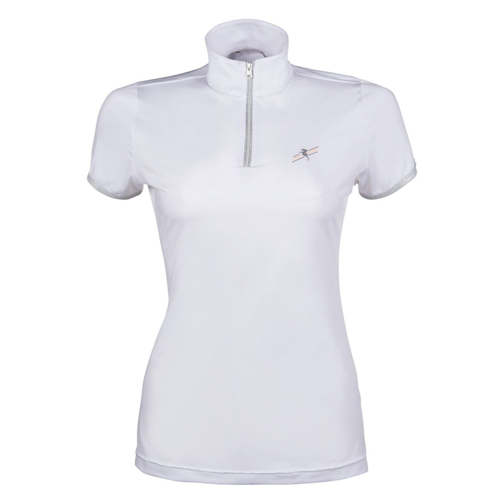 HKM Mondiale Short Sleeve Show Shirt 11649 White Front