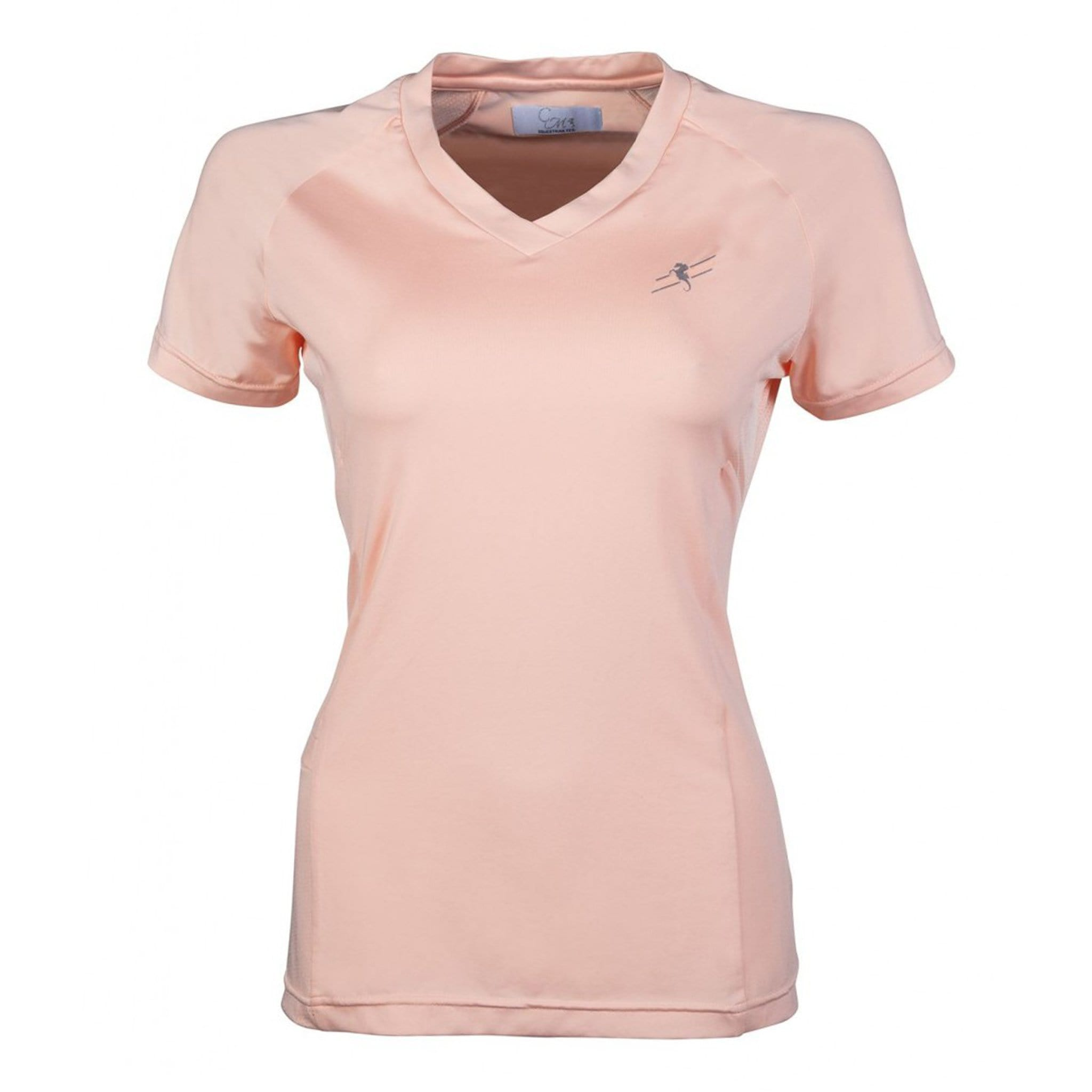 HKM Mondiale Short Sleeve T-Shirt 11320 Apricot Front