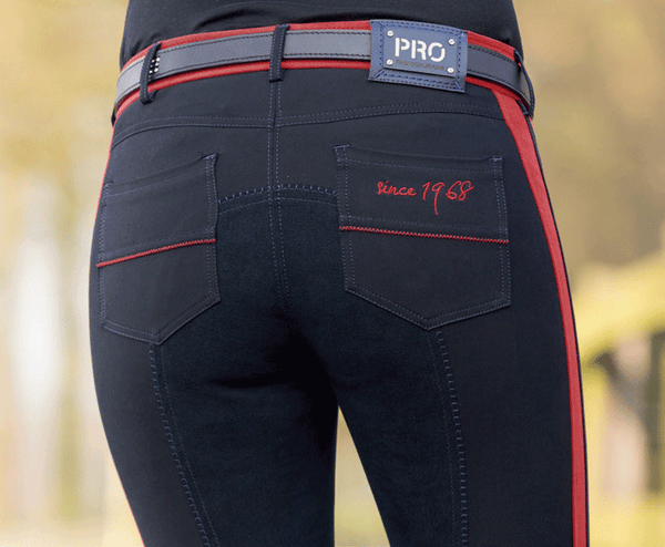 HKM Pro Team Boston 3/4 Alos Seat Breeches