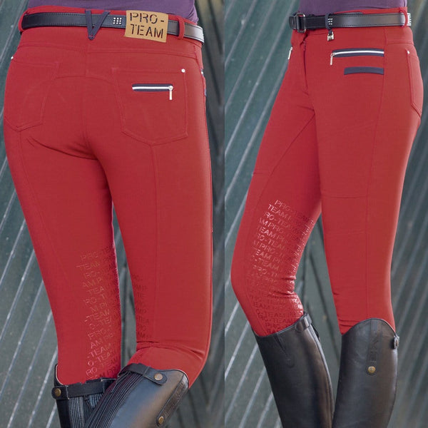 HKM Pro Team Boston Softshell Silicone Breech in Red