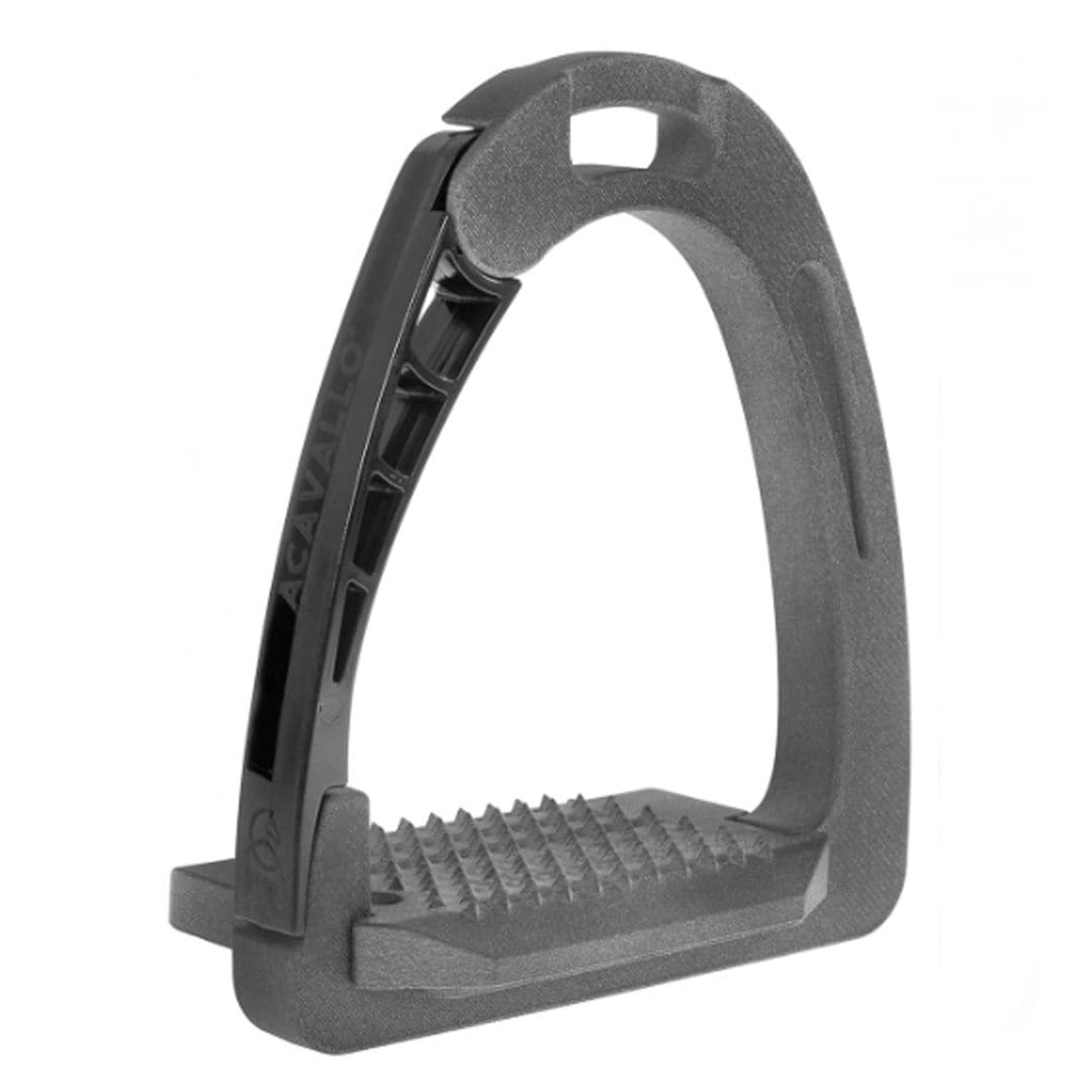 Acavallo Arena PolyPro Junior Stirrup Grey 4921