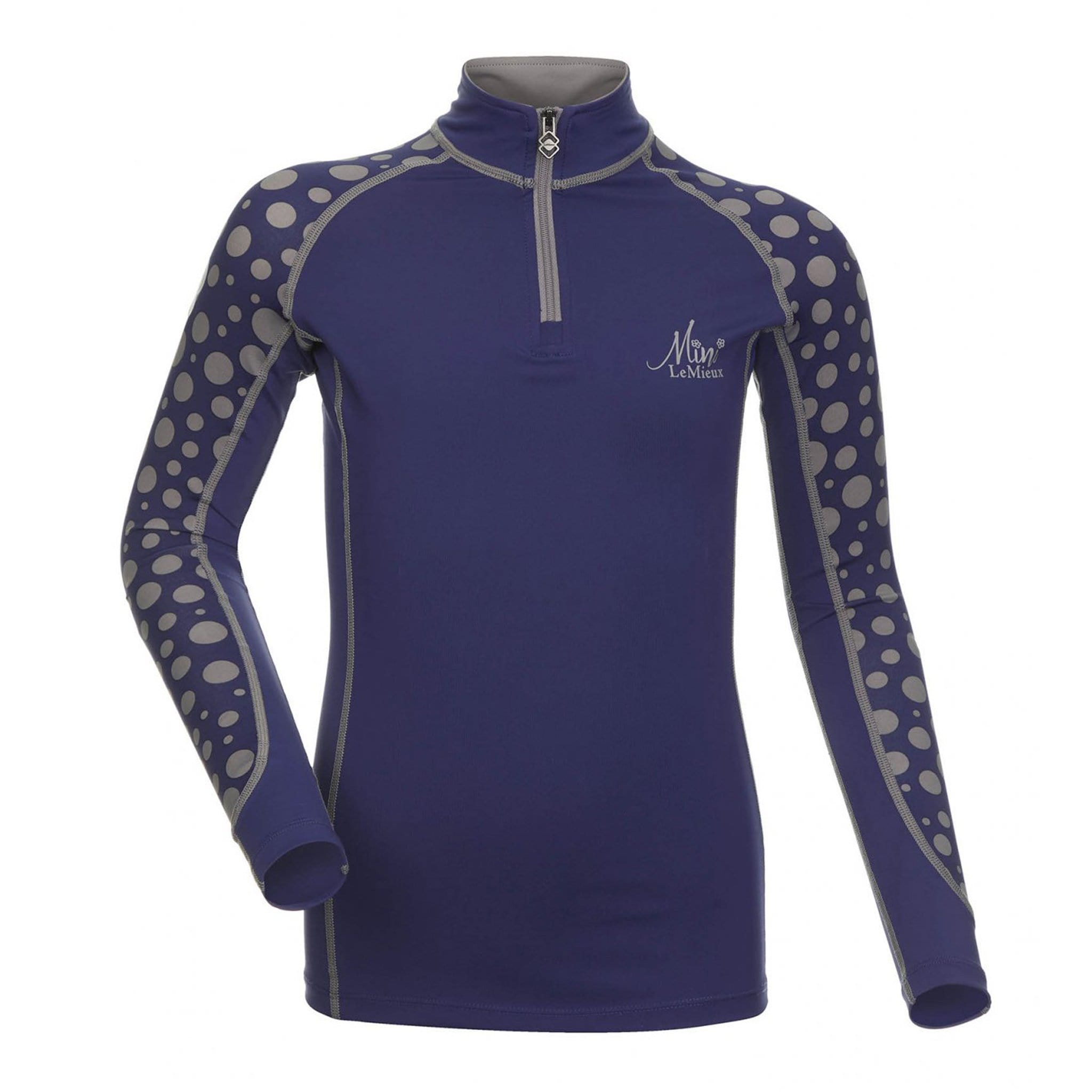 LeMieux Mini Base Layer 5795 Ink Blue Front View