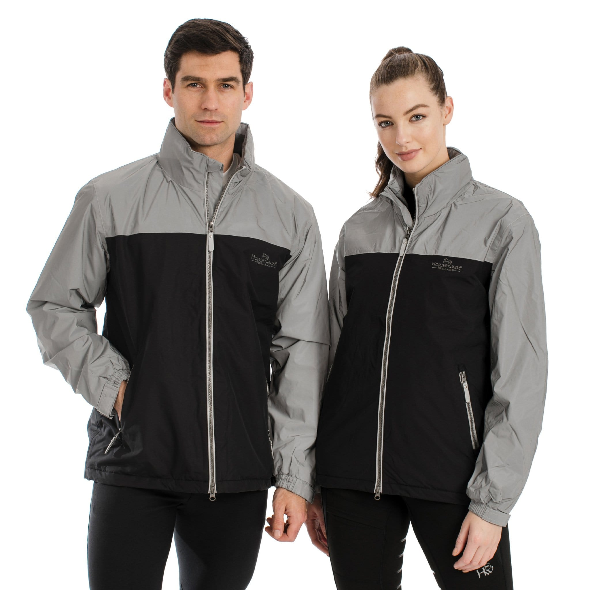Horseware Corrib Reflective Jacket CBHCH2 Male and Female Model Front