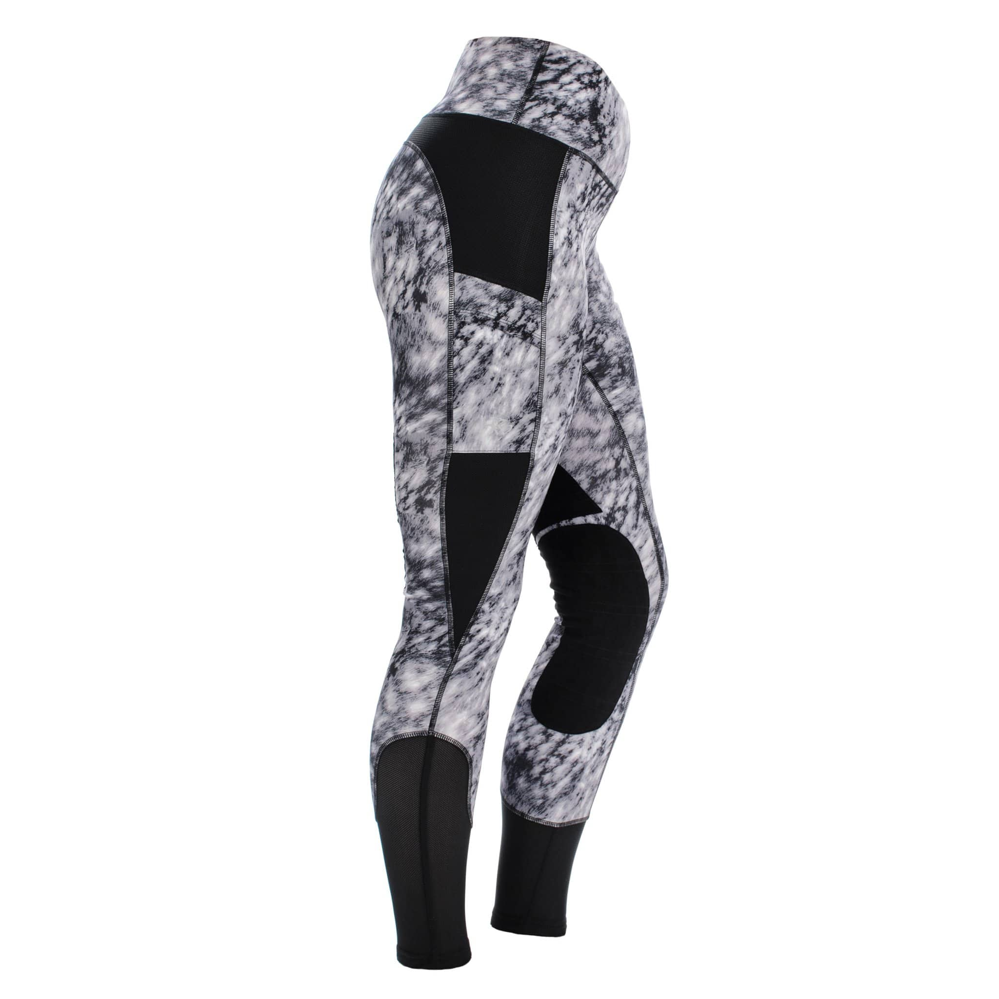 CLHRTS Horseware Riding Tights Dapple Print Side