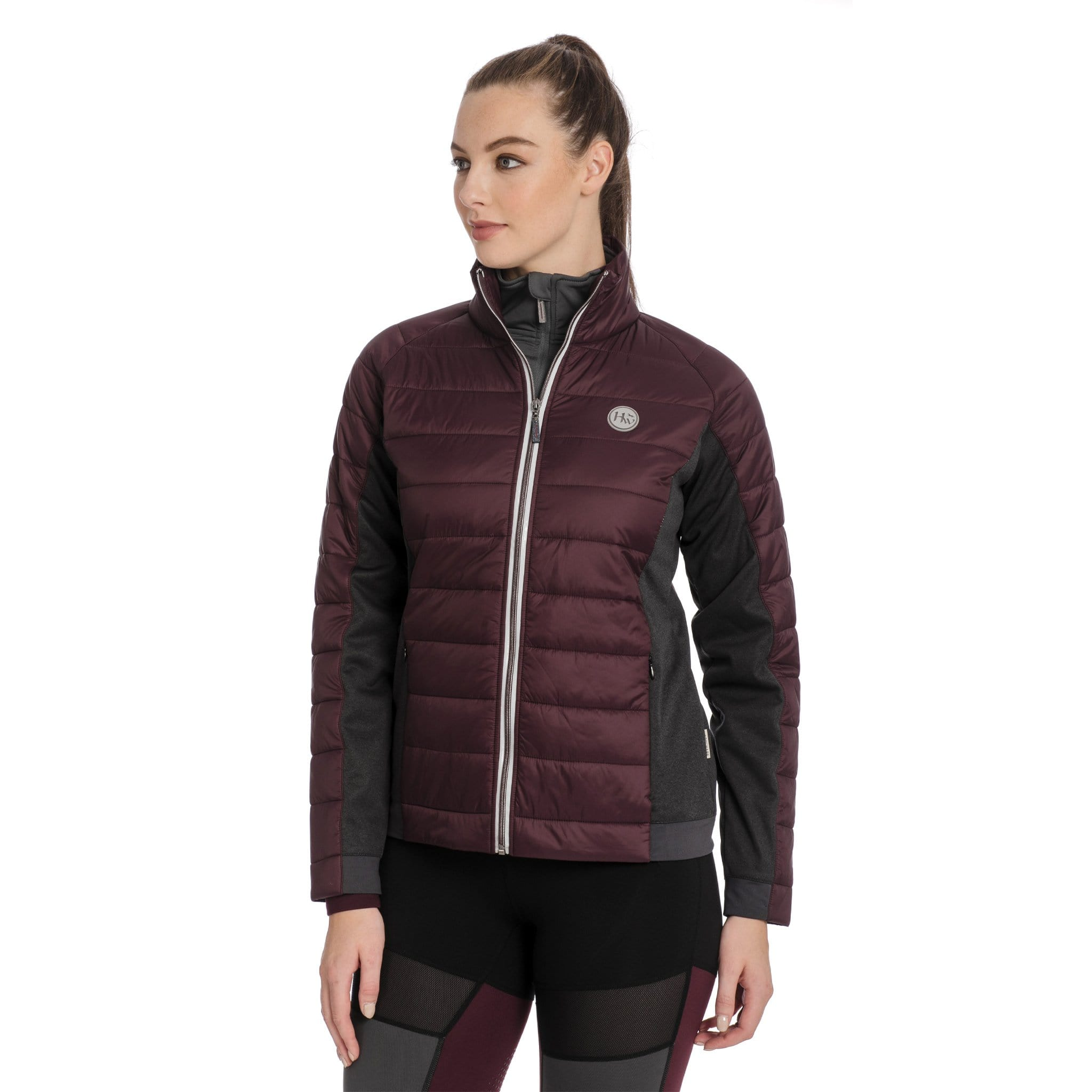 Horseware Winter Hybrid Jacket CBHDTA On Model Front View