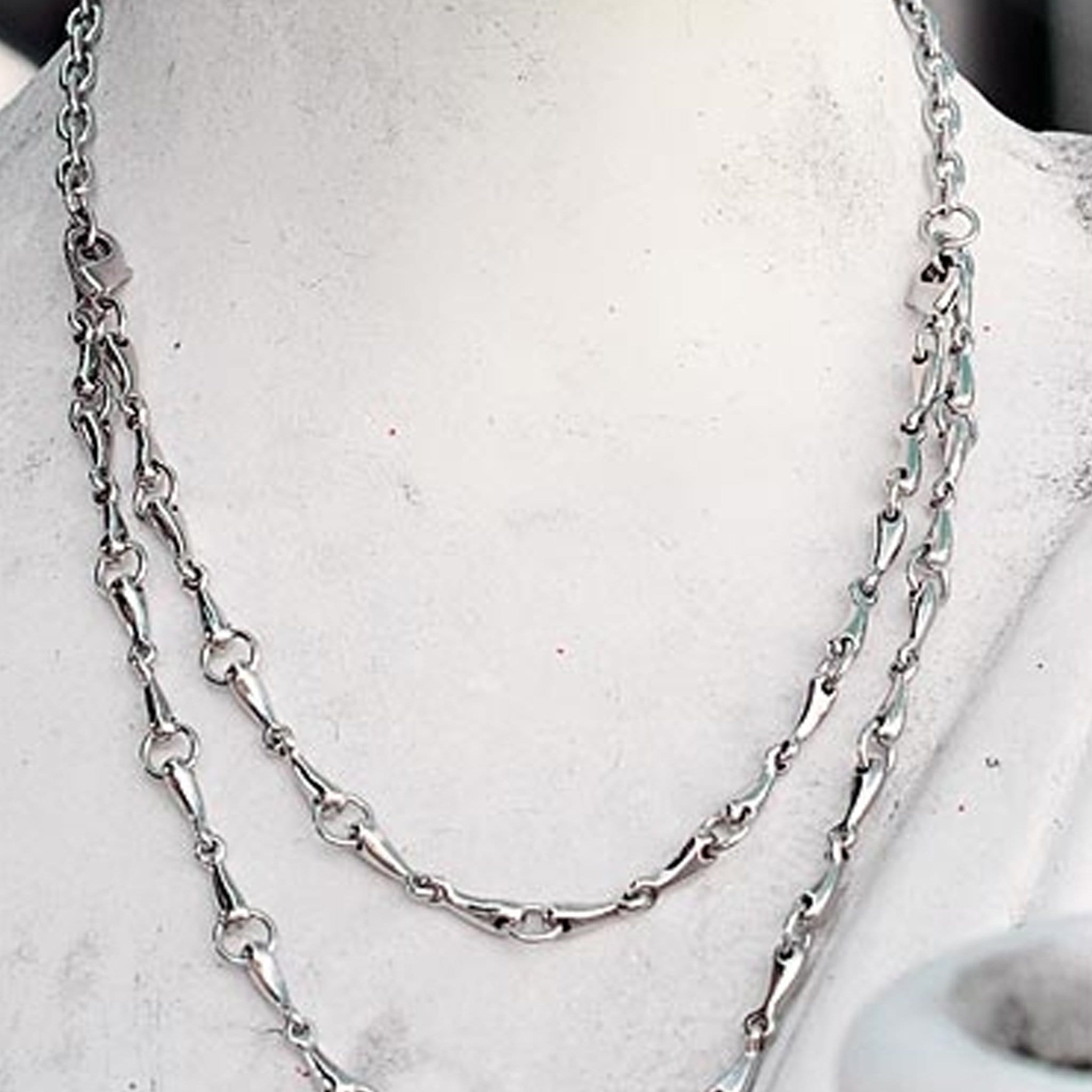 Rubin Ross Snaffle Bits Necklace
