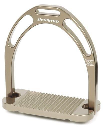 JIN Aluminium Stirrups - Off Gold Satin