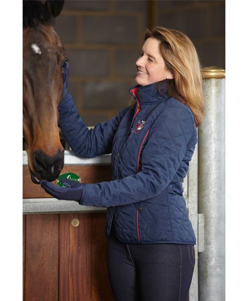 Toggi Team GBR Montreal Ladies Quilted Riding Jacket : ladies quilted riding jacket - Adamdwight.com