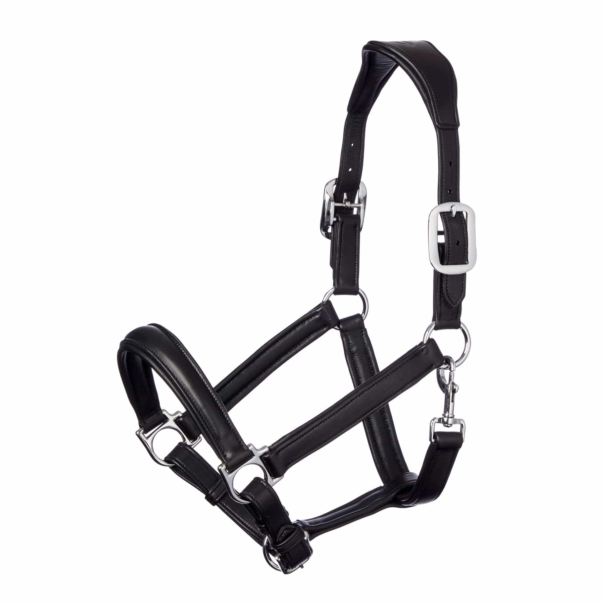 LeMieux Anatomic Headcollar Black 6196