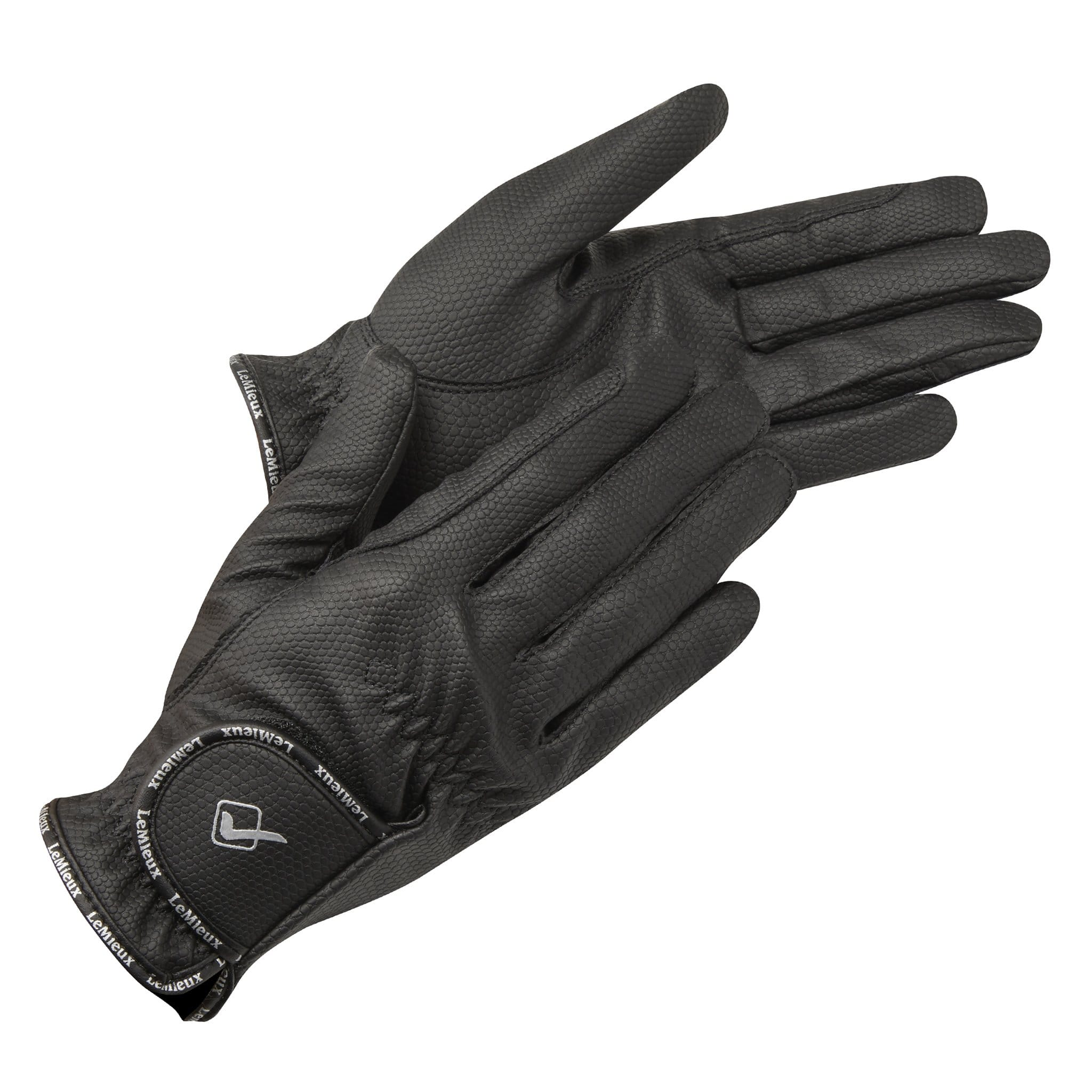 LeMieux ProTouch Classic Riding Gloves Black 5211