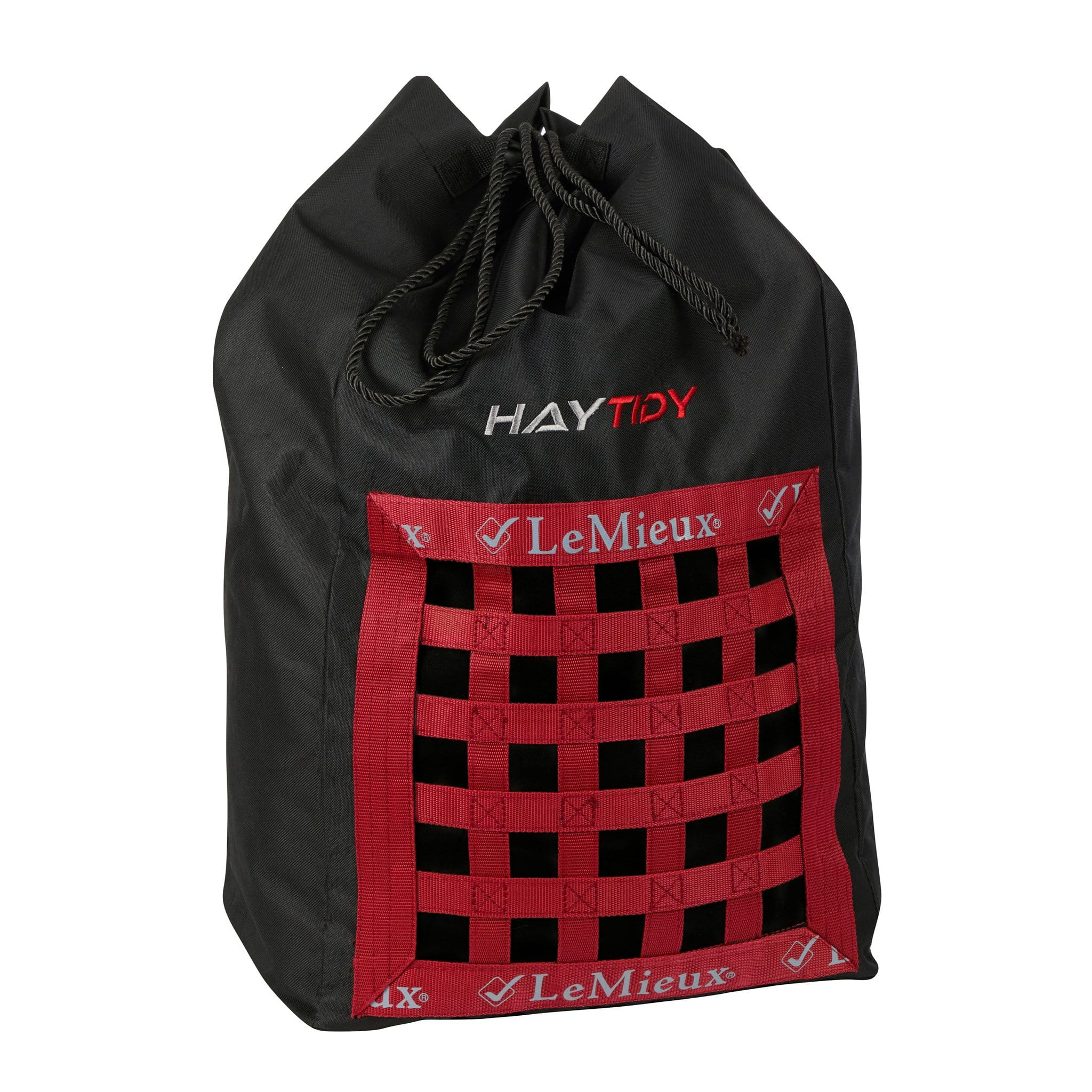 LeMieux ShowKit Hay Tidy Bag 6252 Black