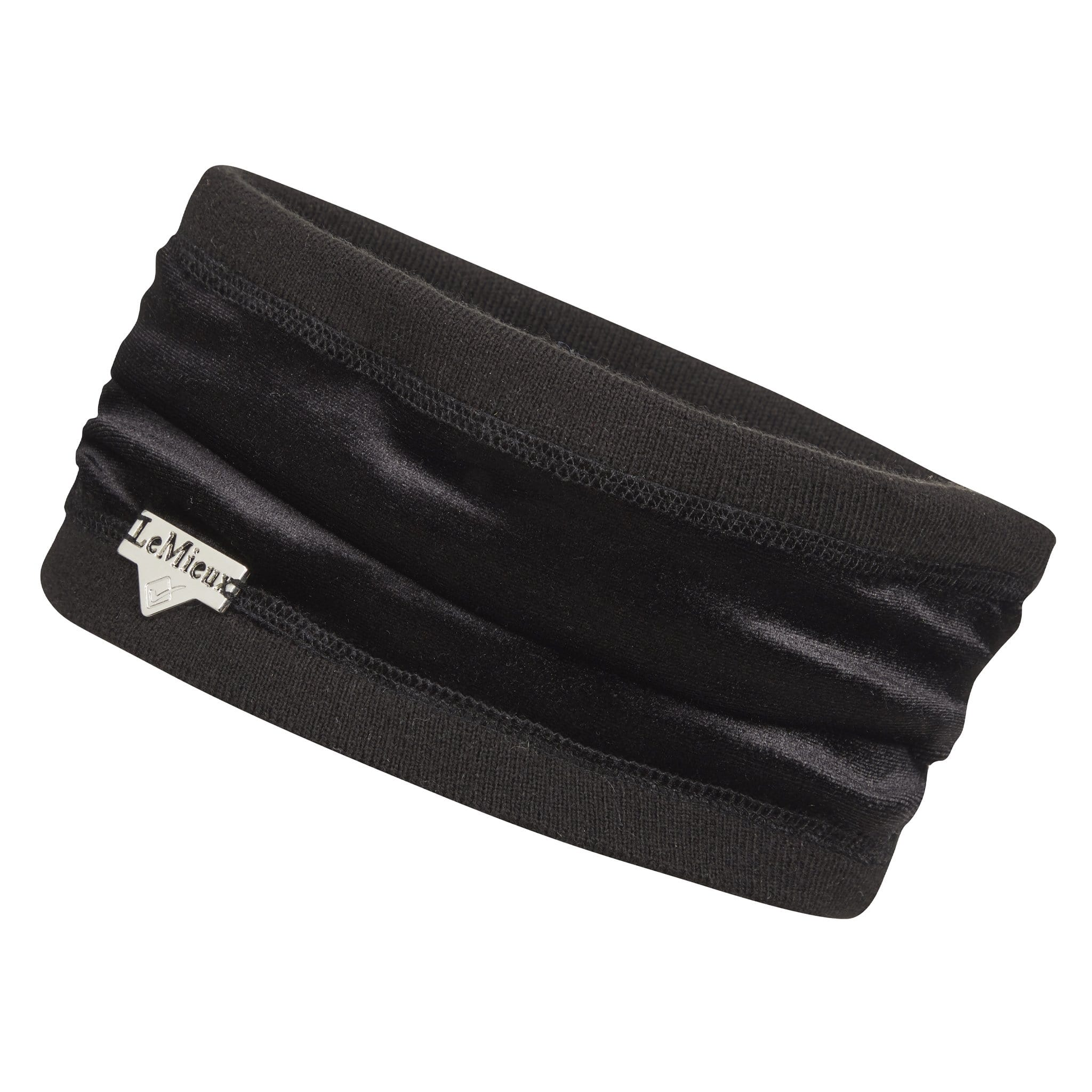 LeMieux Meribel Winter Headband Black 5044