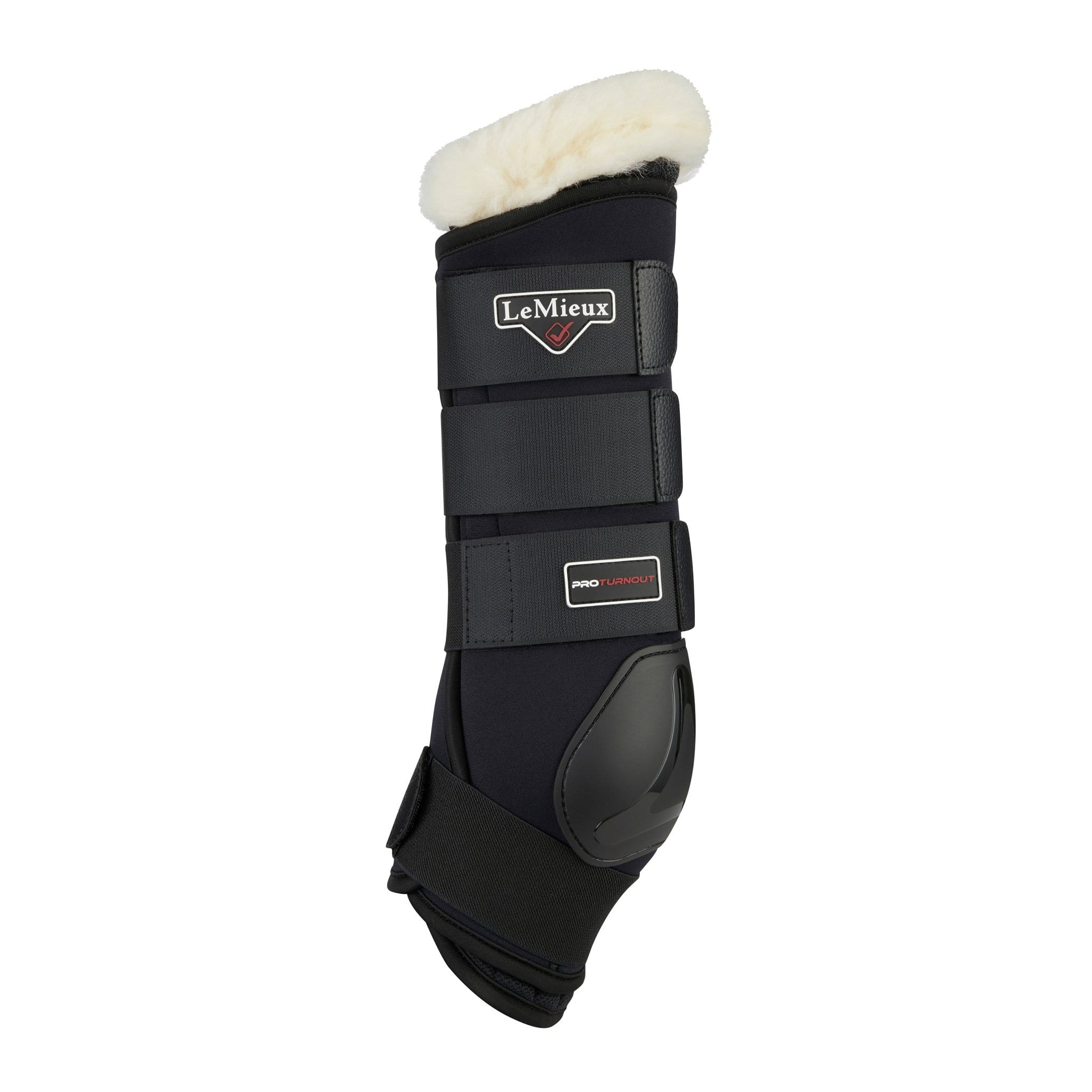 LeMieux Protector Boots Black 6192 Outside