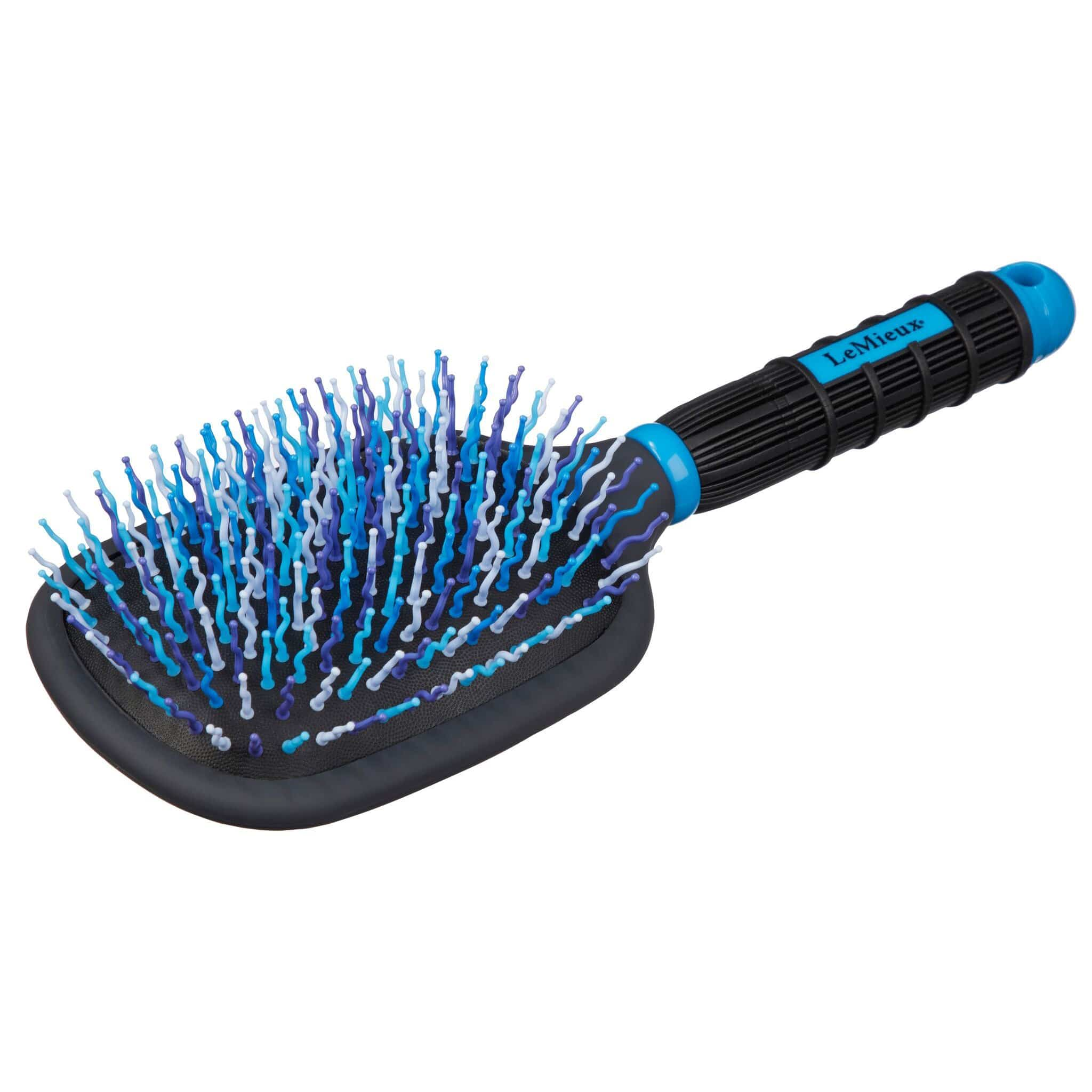LeMieux Tangle Tidy Plus Blue Bristles