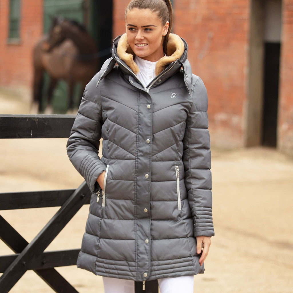 Mark Todd Deluxe Long Padded Coat Equus
