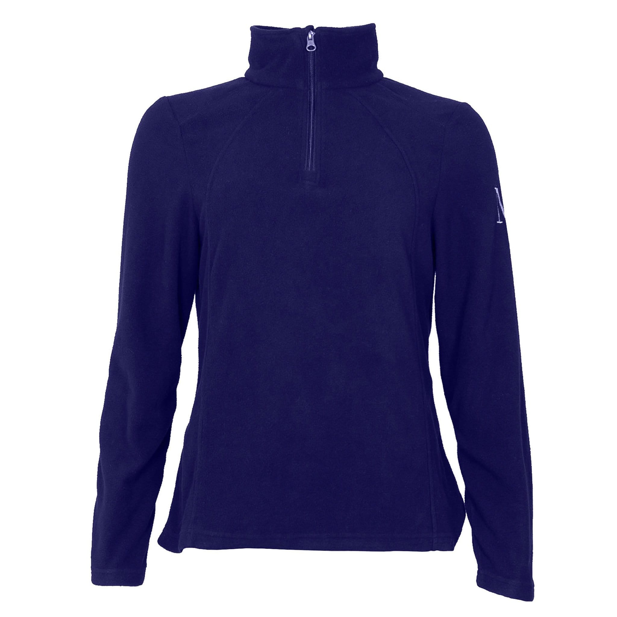 Mark Todd Men's Quarter Zip Fleece TOD692170 Navy Front