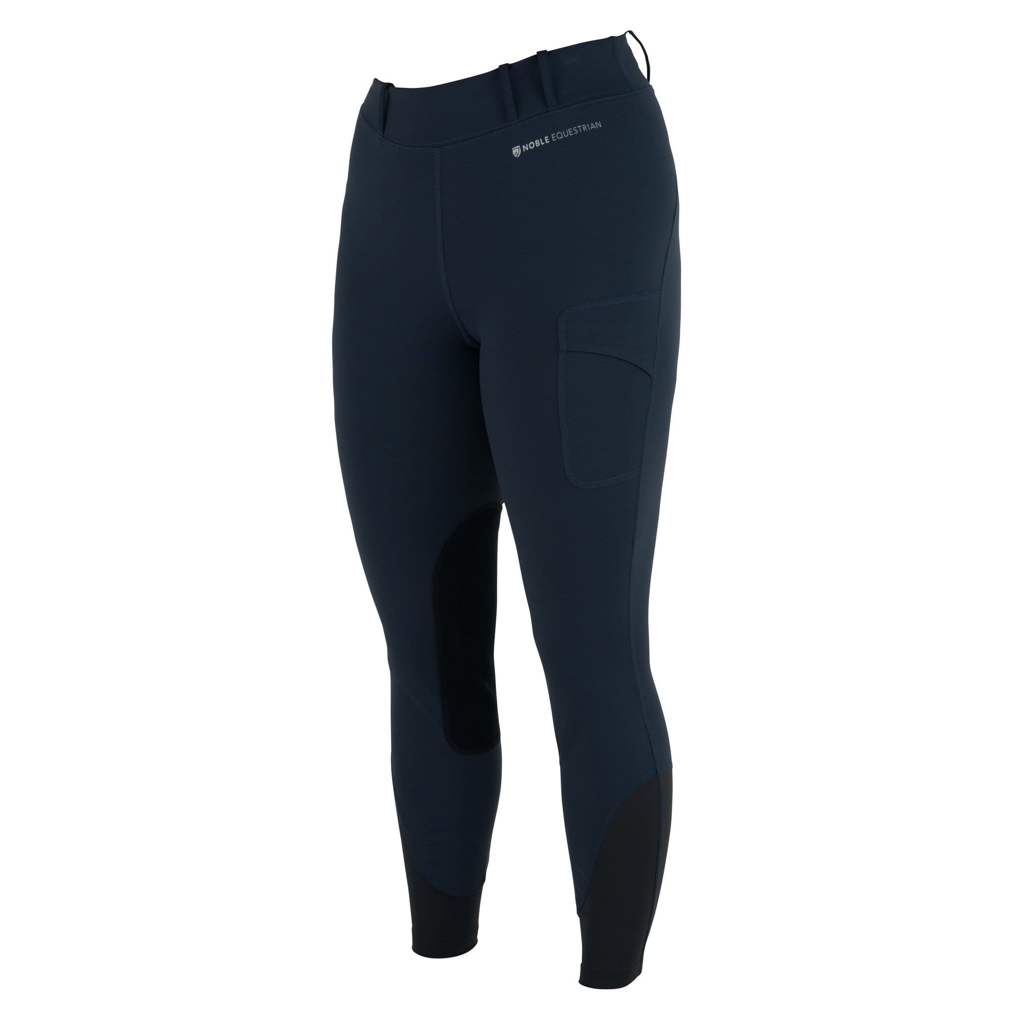 Noble Equestrian Balance Riding Tight Dark Navy Front 24000