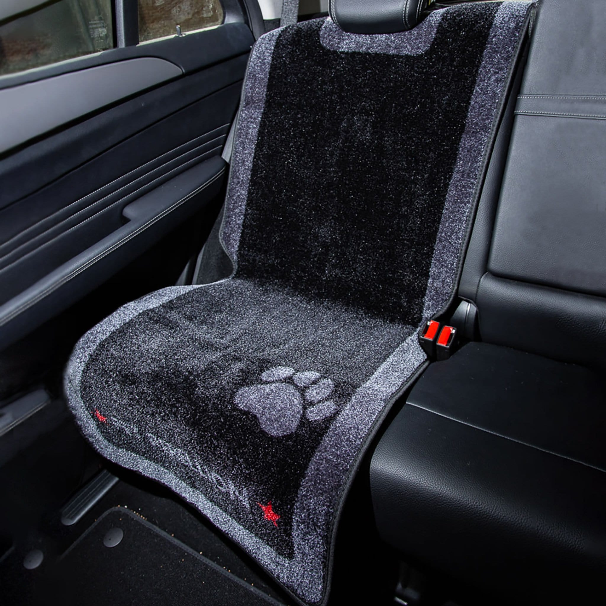 Pet Rebellion Car Seat Carpet Black PRB0400