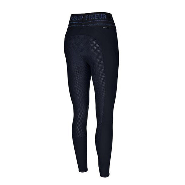 Pikeur Glen Athleisure Silicone Grip Full Seat Riding Tights Nightblue Back 145806