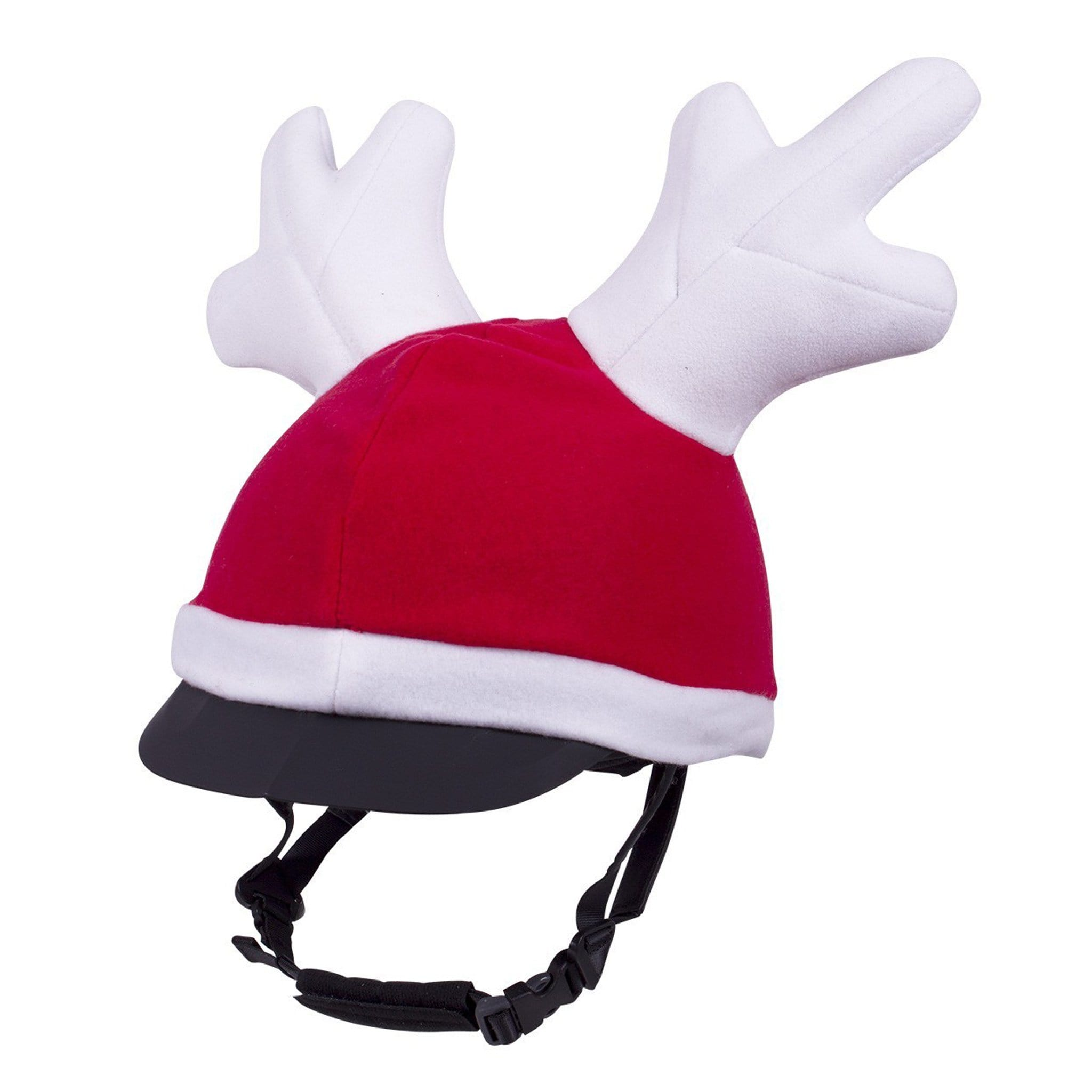 QHP Christmas Rider's Reindeer Hat Red 8318
