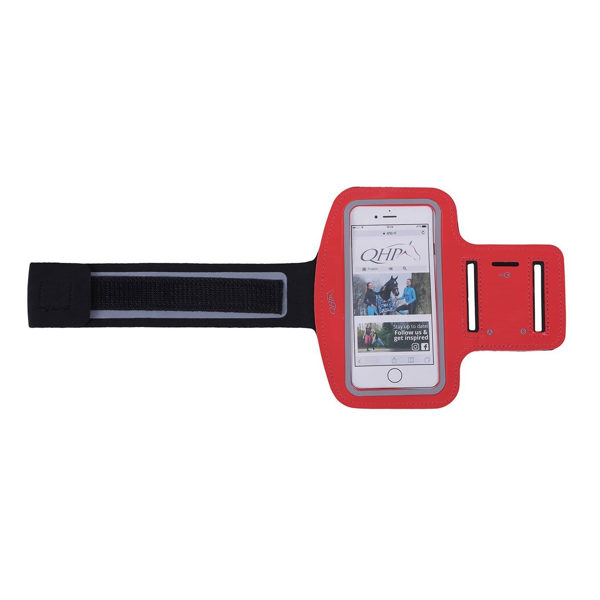 QHP Smartphone Cover and Armband 5236 Red