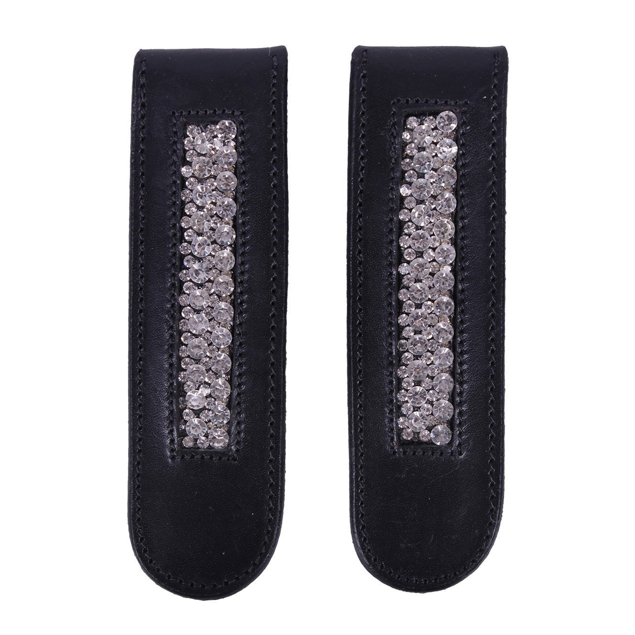 QHP Verbena Boot Clip 7211 Black Pair
